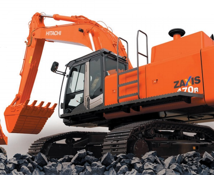 excavators and earth moving equipment