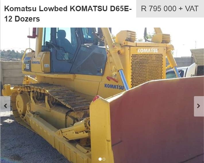 komatsu dozer for sale