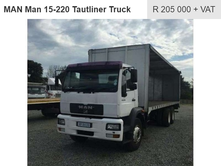 man tgs truck for sale