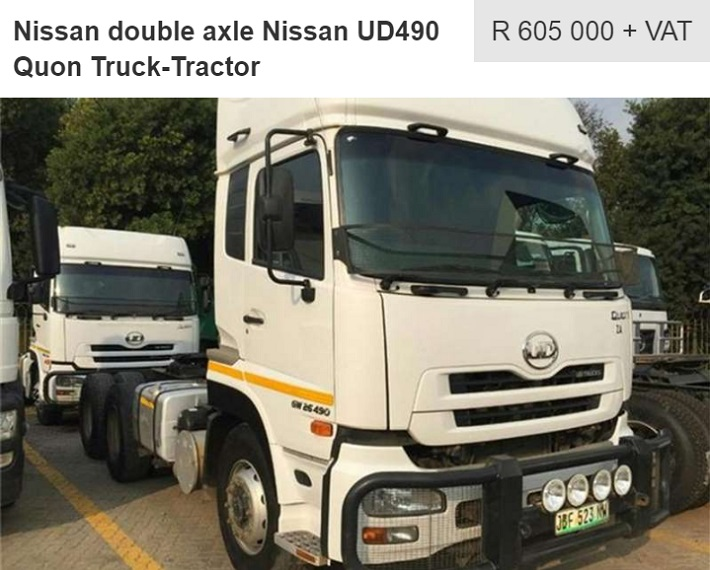 nissan ud490 quon