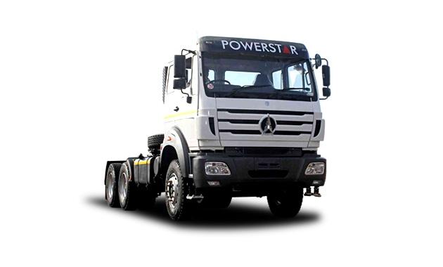 powerstar vx 2642 s 6x4 truck