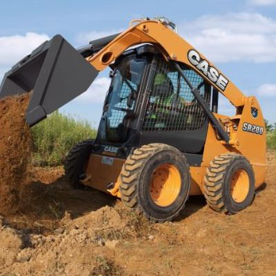 sr200 case skid steer loaders