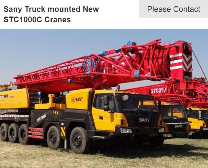sany stc1000 crane