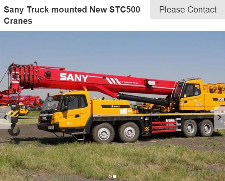 sany stc500 for sale