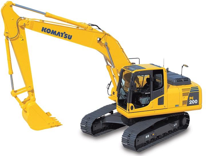 pc200 komatsu excavator