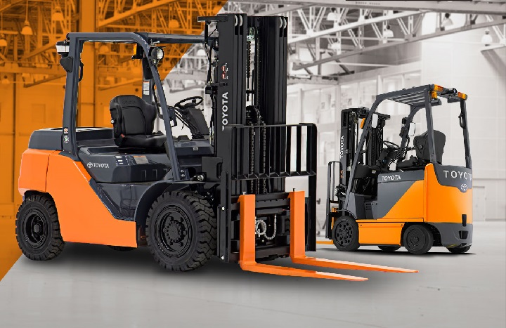 toyota forklifts for sale