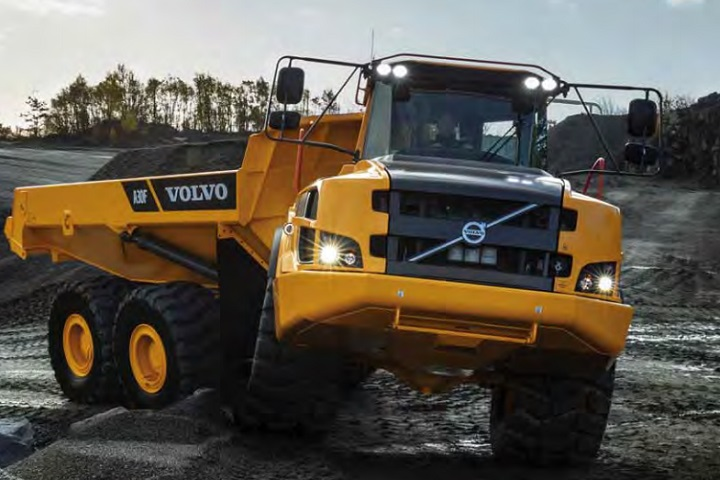 volvo dumpers for sale