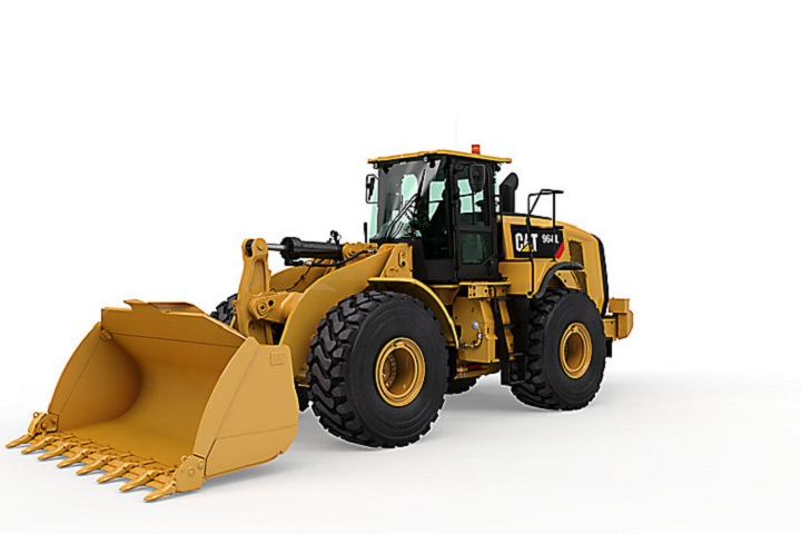 966l cat front end loader