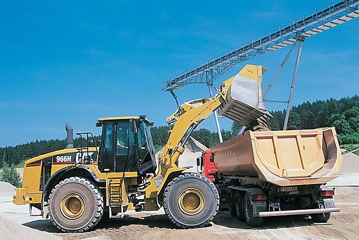 966h front end loader from cat