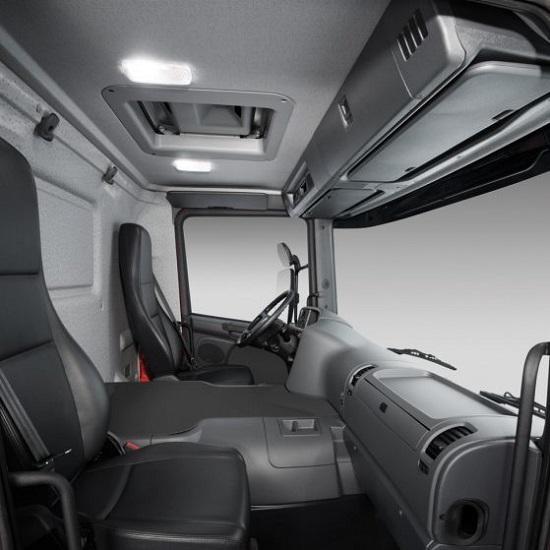 scania p series cab interior