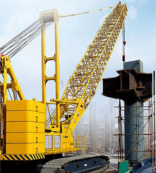 quy250 crawler crane from xcmg