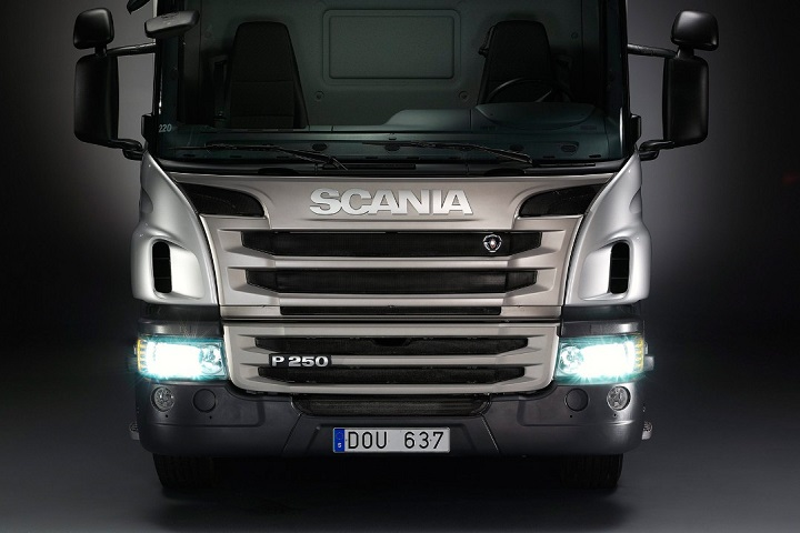 scania p series trucks