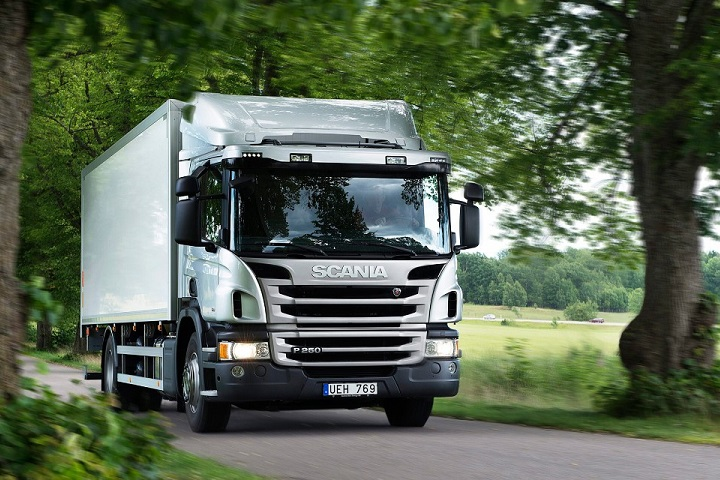 Scania Trucks P Series trucks engineered for economy and