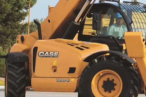 case tx series telescopic handler