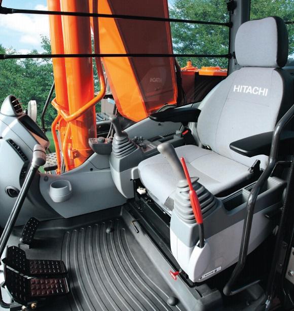 hitachi zx240 cab interior