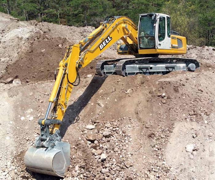 e series bell excavator