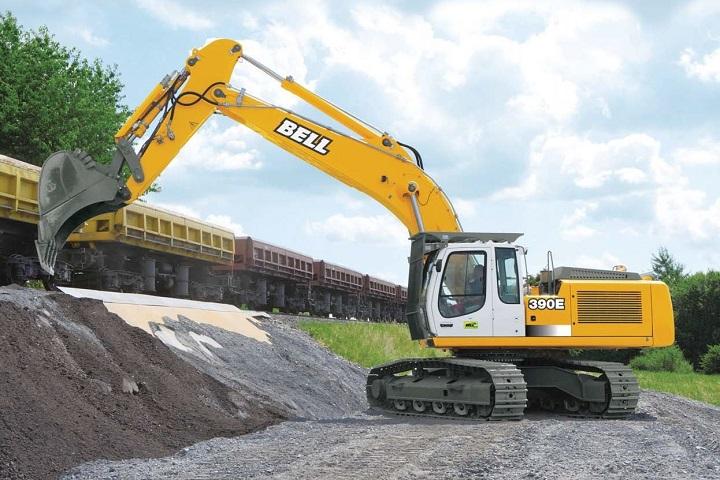 hx390e hydralic crawler excavator