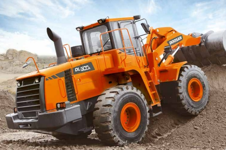 dl300a doosan front end loader