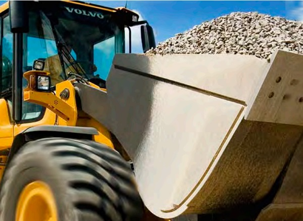 wheel loader from volvo equipment