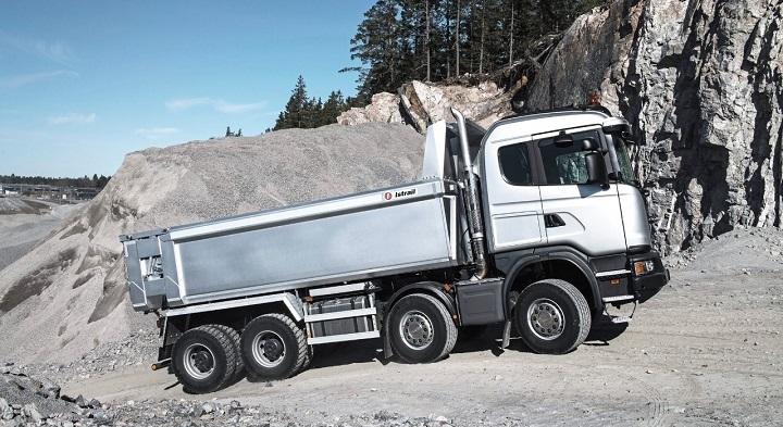 scania g series trucks