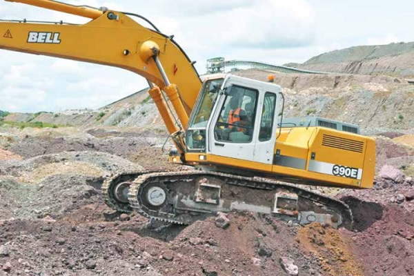 e series bell crawler excavator