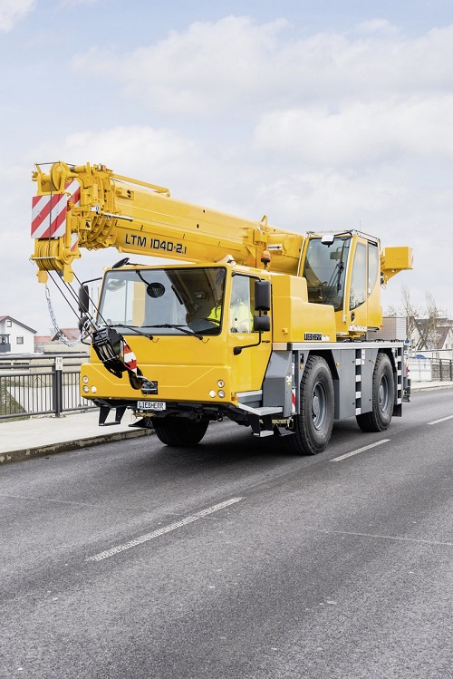 construction equipment from liebherr