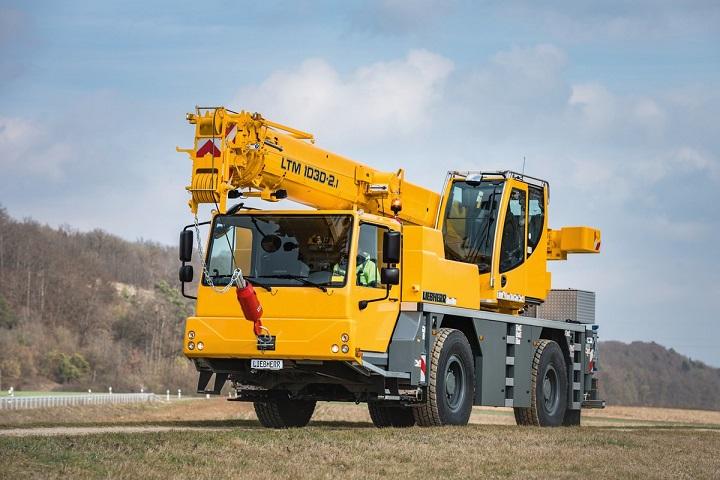 mobile liebherr ltm 1030 crane