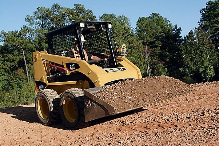 skid steer loader cat 226