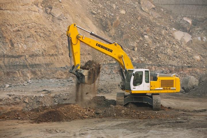liebherr crawler excavator