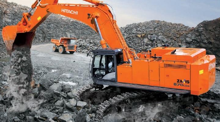 hitachi zx870 excavator