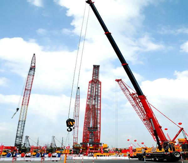 50 ton sany stc500 crane