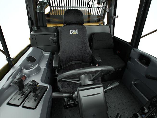 cat 725c adt cabin