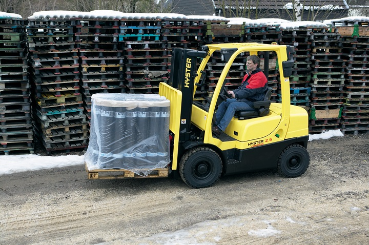 Relentless power of the IC Hyster Forklift range - Truck