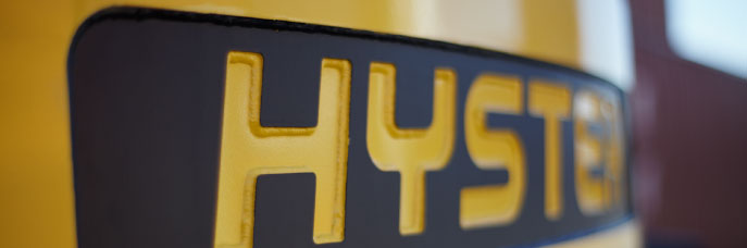 logo of the machinery manufacturing company hyster