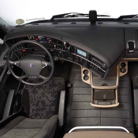 interior of the scania r series