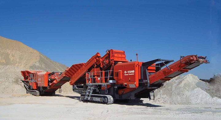 terex finlay c1540 crusher