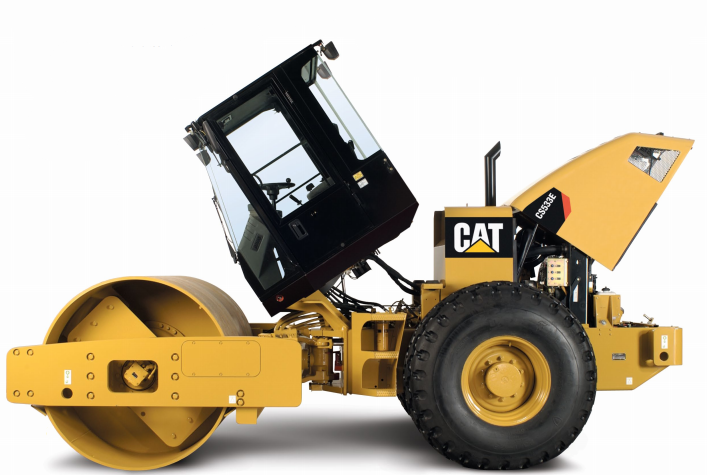 the soil compactor from cat