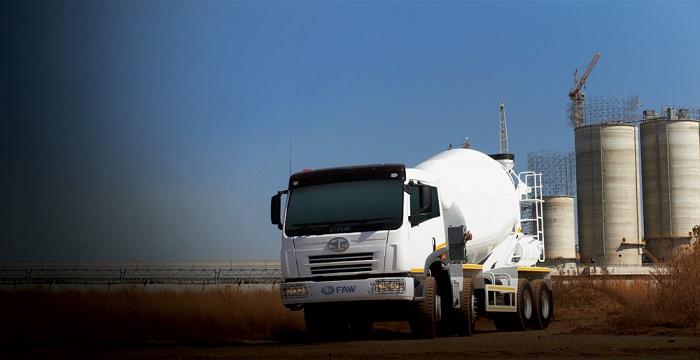 faw 35.340 mixer truck