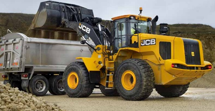 the jcb at work