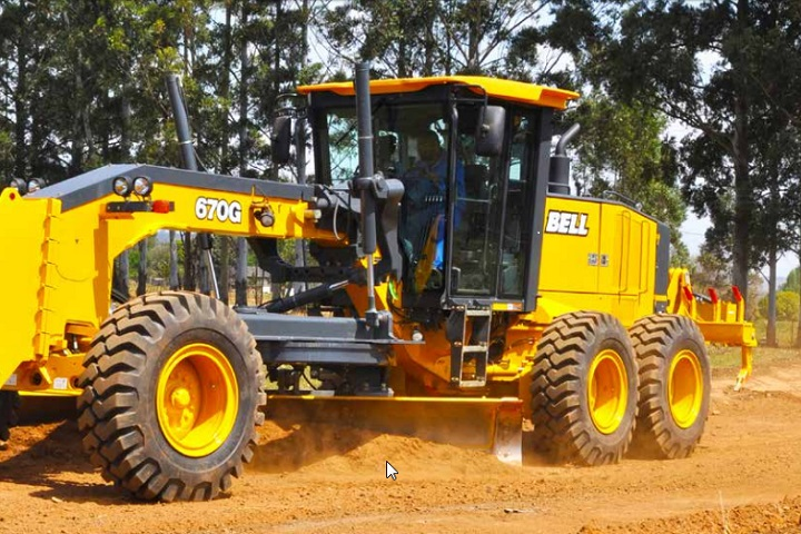 bell equipment g series motor grader