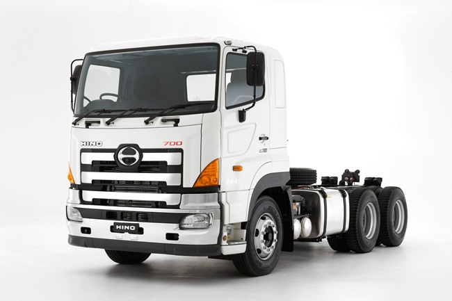 the 700 series truck from hino