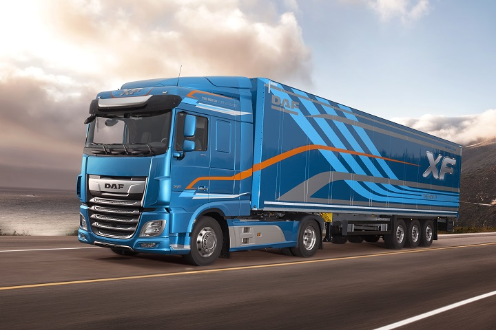 new xf trucks by daf