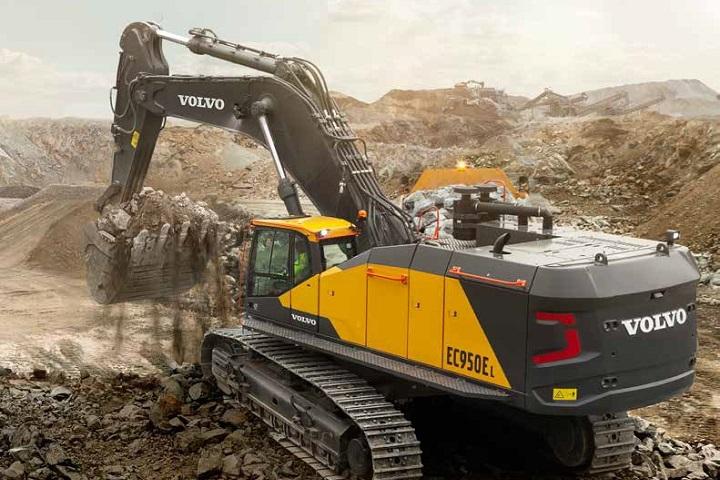 excavator by volvo