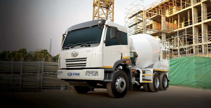 mixer truck from faw