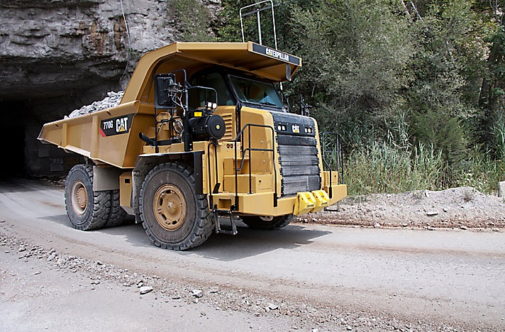 tough cat dump truck