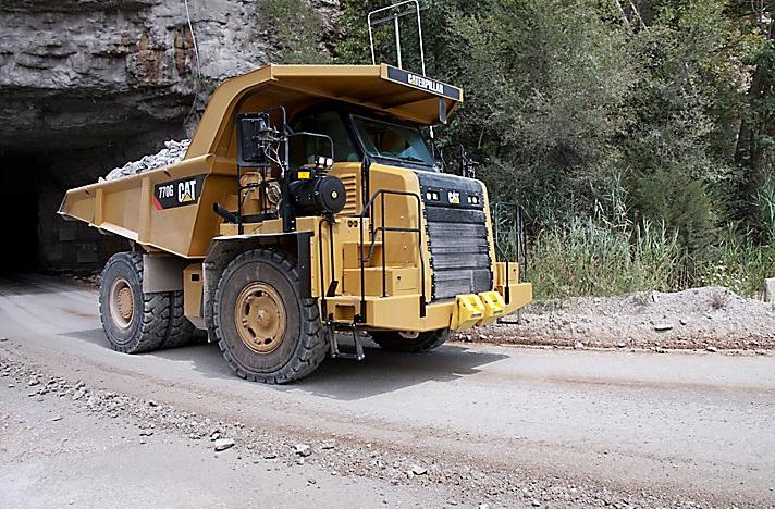 tough cat dump truck