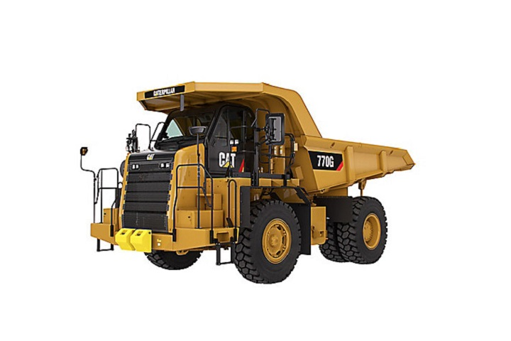 dumper truck by cat