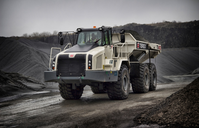 ta400 adt by terex