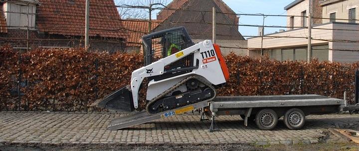 construction Bobcat loader