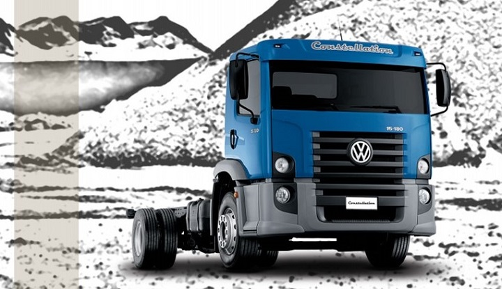 VW Constellation truck